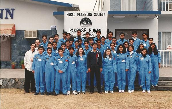 Buraq Space Camp 1996