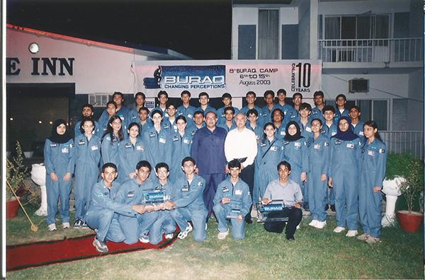 Buraq Space Camp 2003