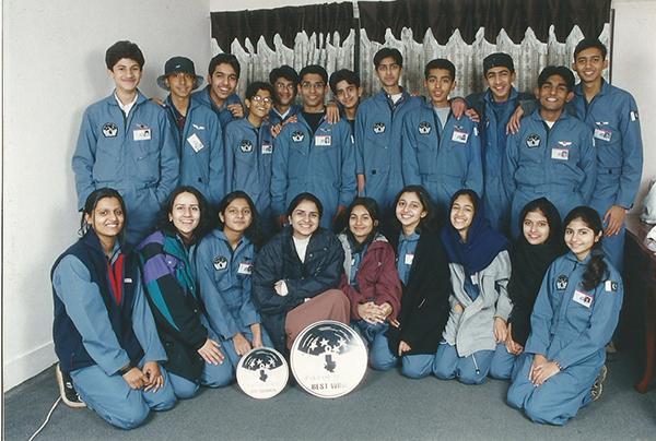 Buraq Space Camp 2001